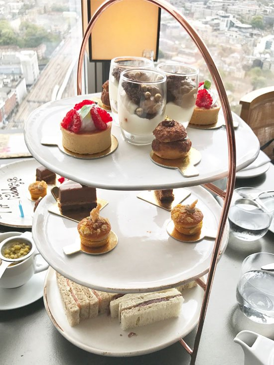 Afternoon Tea With A View Oblix London 2