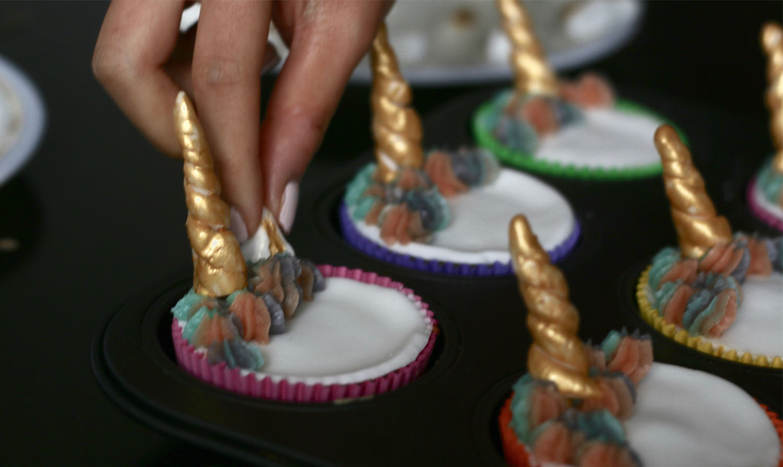 Best Birthday Treat Magical Unicorn Cupcakes 1