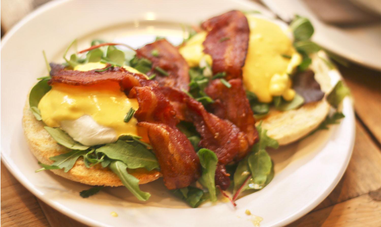 Corner Bakery Eggs Benedict