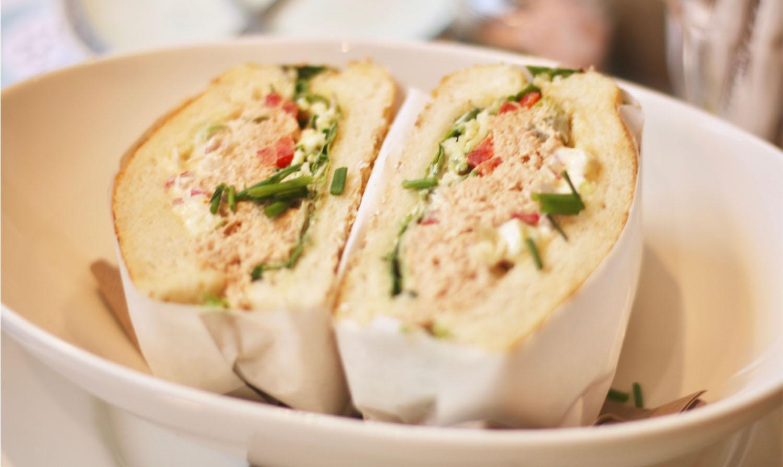 Corner Bakery Tuna Salad Sandwich