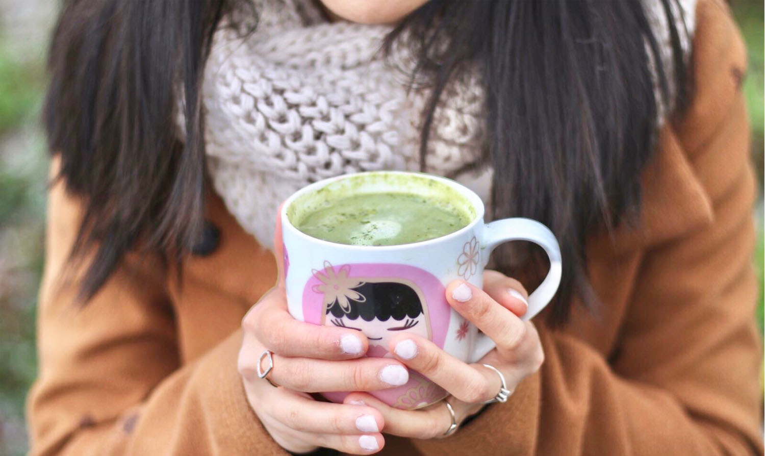 Matcha Latte For Leisure Time