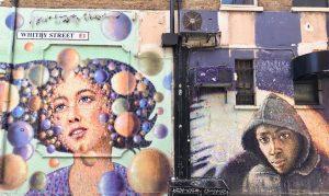 Street Art In London's Shoreditch - Whitby Street 1