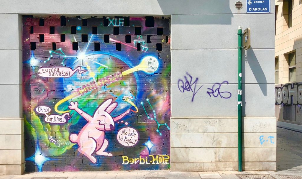 Street Art In Valencia - A Lasting Impression 7